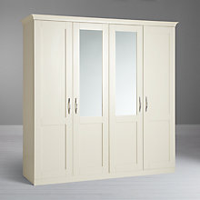 Buy John Lewis Mix it Woburn Brushed D Handle Bedroom Range, Ivory Online at johnlewis.com