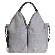 Buy Laessig Neckline Changing Bag, Grey Melange Online at johnlewis.com