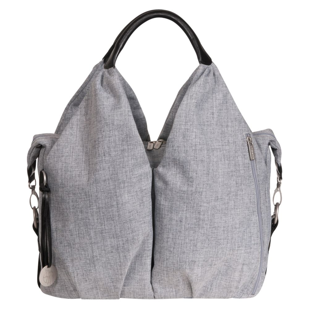 Laessig Laessig Neckline Changing Bag, Grey Melange