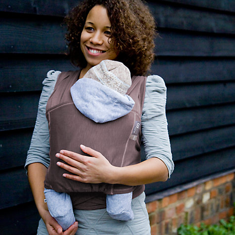 Buy Close Parent Caboo Close Carrier, Taupe Online at johnlewis.com