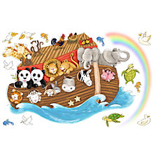 Buy Roommates Giant Noah's Ark Wall Sticker Online at johnlewis.com