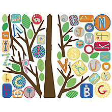 Buy Roommates Giant Alphabet Tree Wall Sticker Online at johnlewis.com