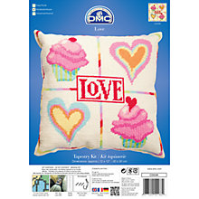 Buy DMC Love Tapestry Kit Online at johnlewis.com