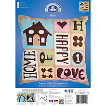 Buy DMC Happy Home Tapestry Kit Online at johnlewis.com
