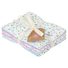 Buy The Craft Cotton Co. Ditsy Floral Print Fat Quarters, Pack of 6, Multi Online at johnlewis.com