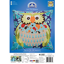 Buy DMC Owl Tapestry Kit Online at johnlewis.com