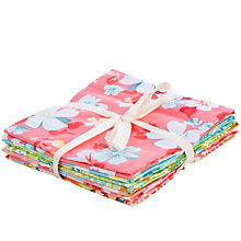 Buy John Lewis Florals And Rings Fat Quarters, Pack of 6 Online at johnlewis.com