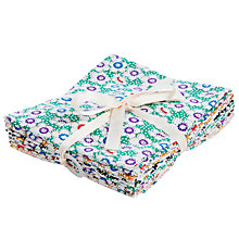 Buy John Lewis Multi Daisy Dots Fat Quarters, Pack of 6 Online at johnlewis.com