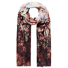 Buy Fay Et Fille Tree Print Scarf, Multi Online at johnlewis.com