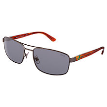 Buy Polo Ralph Lauren 0PH3086 Rectangular Sunglasses Online at johnlewis.com