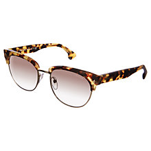 Buy Prada PR08QS Portrait Sunglasses, Medium Havana Online at johnlewis.com