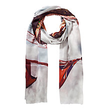 Buy Fay Et Fille South Bank Print Scarf, Multi Online at johnlewis.com