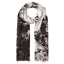 Buy Fay Et Fille Paris Monochrome Scarf, Multi Online at johnlewis.com