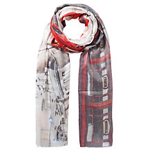 Buy Fay Et Fille Phone Boxes Print Scarf, Multi Online at johnlewis.com