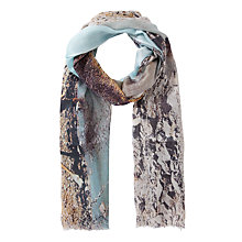 Buy Fay Et Fille Safari Giraffe Print Scarf, Multi Online at johnlewis.com