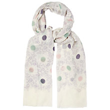 Buy White Stuff Spot & Floral Scarf, Multi Online at johnlewis.com