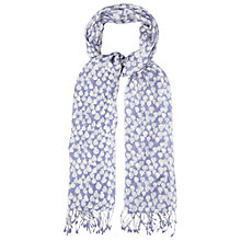Buy White Stuff Ladybird Spot Scarf, Blue Online at johnlewis.com