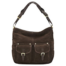 Buy Joules Leycett Leather Shoulder Bag Online at johnlewis.com