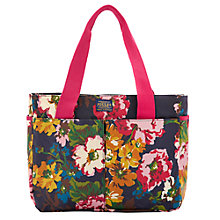 Buy Joules Canvas Tote Bag, Navy Floral Online at johnlewis.com
