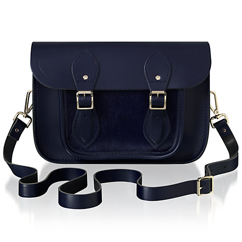 "Buy The Cambridge Satchel Company 11"" Haircalf Pocket Satchel Bag Online at johnlewis.com"