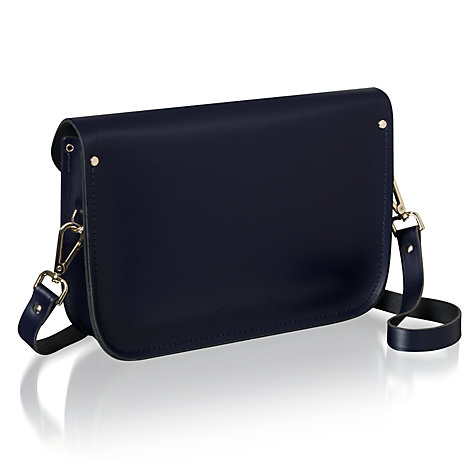 "Buy The Cambridge Satchel Company 11"" Haircalf Pocket Leather Satchel Bag Online at johnlewis.com"