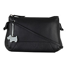 Buy Radley Finsbury Small Leather Across Body Bag, Black Online at johnlewis.com