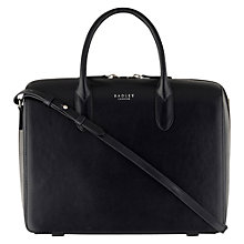 Buy Radley Bloomsbury Large Zip Around Bag, Navy Online at johnlewis.com
