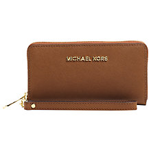 Buy MICHAEL Michael Kors Large Jet Set Travel Multi-Function Purse Online at johnlewis.com