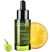 Buy Caudalie Polyphenol Anti-Wrinkle Defense Serum, 30ml Online at johnlewis.com