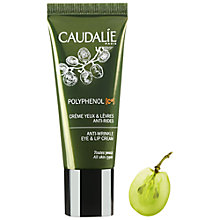 Buy Caudalie Polyphenol Anti-Wrinkle Eye & Lip Cream, 15ml Online at johnlewis.com