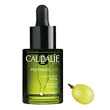 Buy Caudalie Polyphenols Overnight Detox Oil, 30ml Online at johnlewis.com