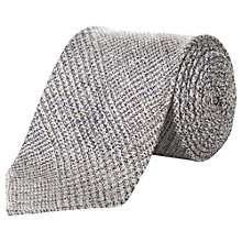 Buy Aquascutum Abstract Houndstooth Silk Tie Online at johnlewis.com