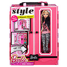 Buy Barbie Style Ultimate Closet Online at johnlewis.com