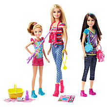 Buy Barbie Sisters Camping, Assorted Online at johnlewis.com