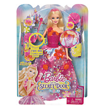 Buy Barbie and the Secret Door Princess Alexa Doll Online at johnlewis.com