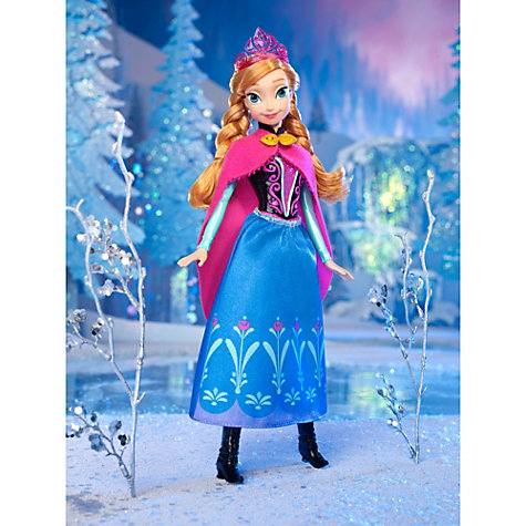 Buy Disney Frozen Anna of Arendelle Doll Online at johnlewis.com