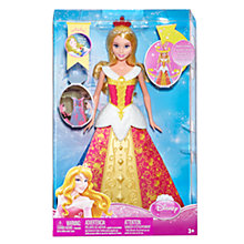 Buy Disney Princess Sleeping Beauty Transforming Doll Online at johnlewis.com