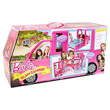 Buy Barbie Glam Getaway Camper Online at johnlewis.com