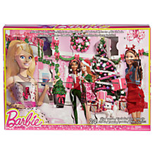 Buy Barbie Advent Calendar with 24 Barbie Gifts Online at johnlewis.com