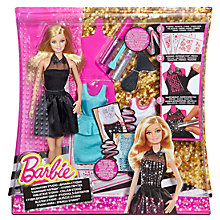 Buy Barbie Sparkle Studio Dress Design Set Online at johnlewis.com