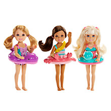 Buy Barbie Pool Party Chelsea & Friends Doll, Assorted Online at johnlewis.com