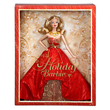 Buy Barbie Collector 2014 Holiday Barbie Doll Online at johnlewis.com