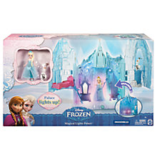 Buy Disney Frozen Magical Lights Palace with Elsa and Olaf Online at johnlewis.com