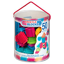 Buy Bristle Blocks Basic Builder Bucket Online at johnlewis.com