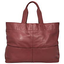 Buy John Lewis Bronte Oversized Leather Tote Bag Online at johnlewis.com