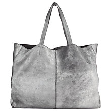 Buy Collection WEEKEND by John Lewis Morgan Leather Tote Bag, Porto Online at johnlewis.com
