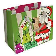 Buy Caroline Gardner Christmas Landscape Gift Bag Online at johnlewis.com