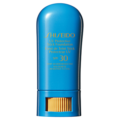 shop for Shiseido Sun Protection Stick Foundation at Shopo