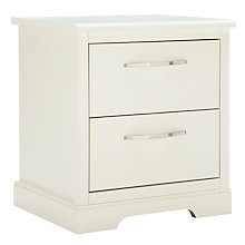 Buy John Lewis Mix it Woburn/Hartland Brushed D Handle Bedside Chest, Ivory Online at johnlewis.com