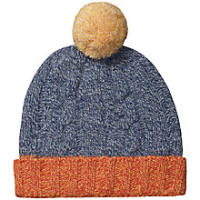Buy Seasalt Craft Chunky Beanie, Multi Online at johnlewis.com